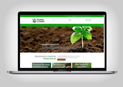 Tienda Online Huerta y Jardín