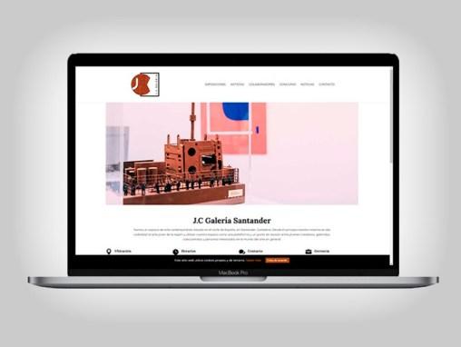 Web JC Galería de Arte