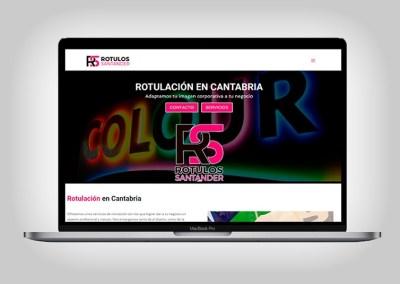 Web Rotulos Santander