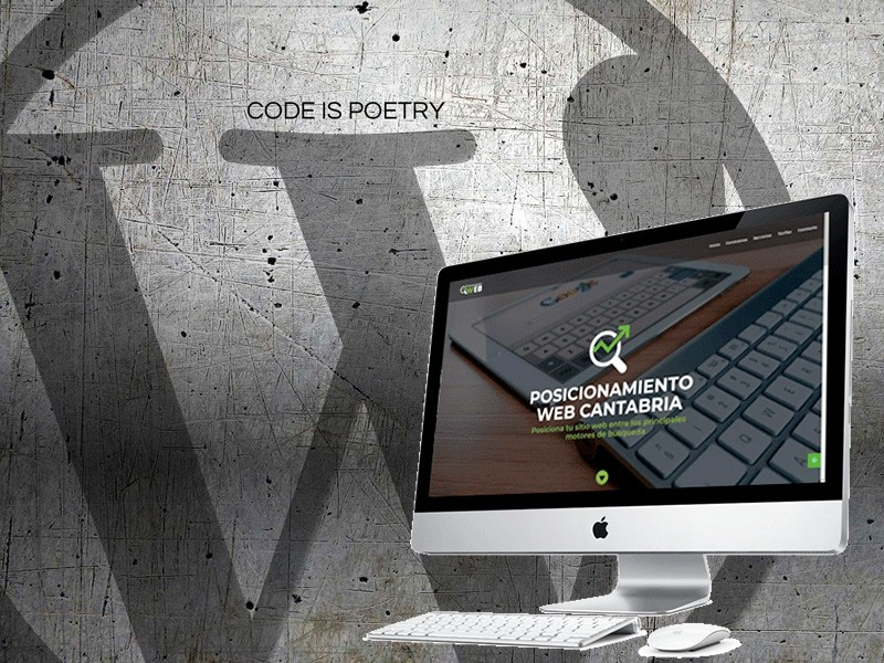 Diseño web WordPress en Cantabria