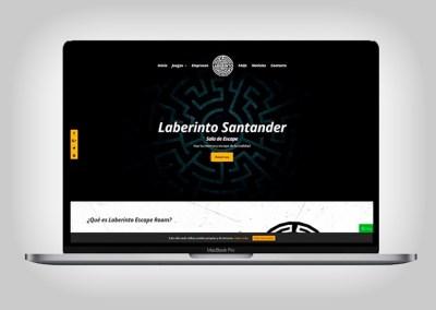Web Laberinto Santander