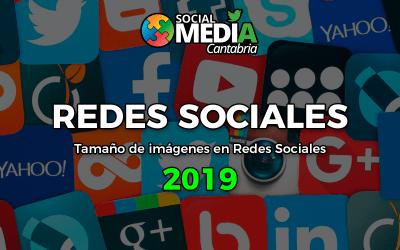 Tamaño de imágenes en Redes Sociales 2019