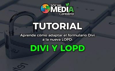 Cómo adaptar el formulario Divi a la nueva LOPD