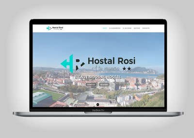 Web Hostal Rosi