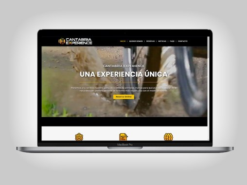 Web Cantabria Experience