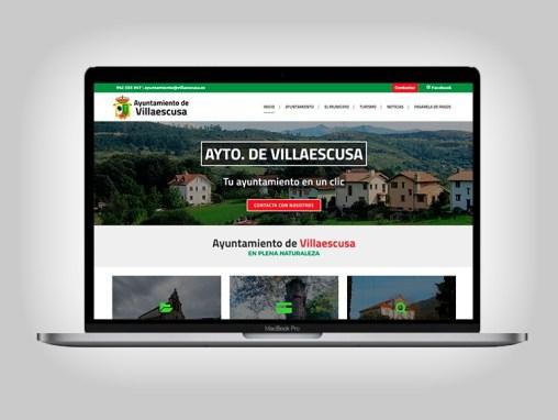 Web Ayuntamiento de Villaescusa
