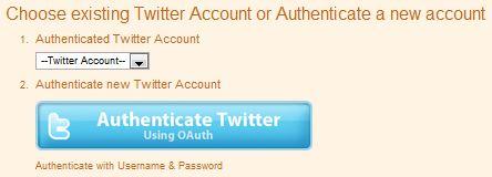 Twitterfeed Setup Step 3