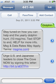 mobiles Opt-In