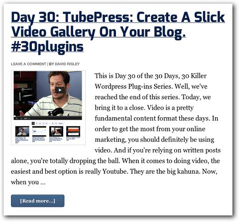 Beispiel für einen Beitrag in einer Blogserie