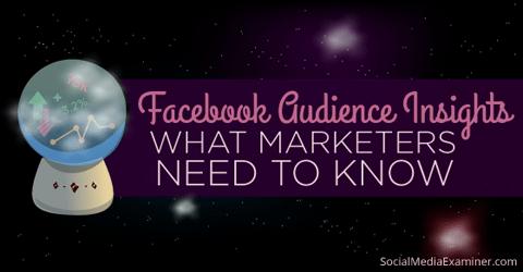Einblicke in das Facebook-Publikum