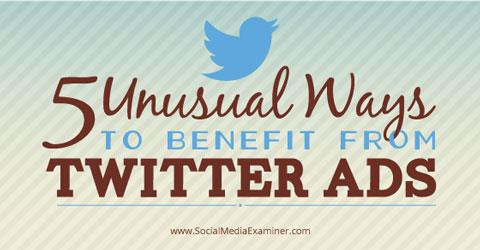 Vorteile von Twitter-Anzeigen