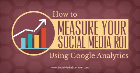 messen Sie Social Media Roi