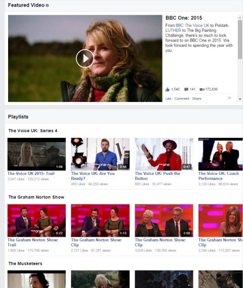 BBC Video-Wiedergabeliste