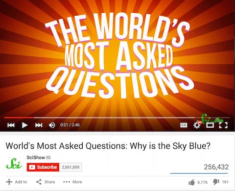 Scishow Youtube Video