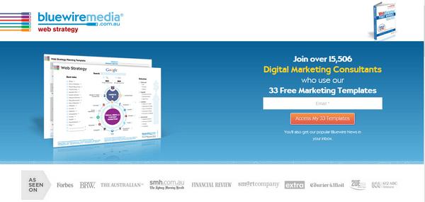 Homepage E-Mail-Anmeldung