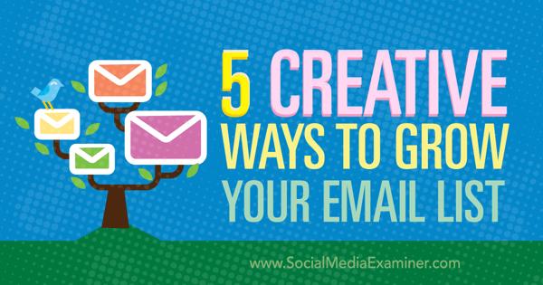 Konvertierung der Blog-E-Mail-Liste