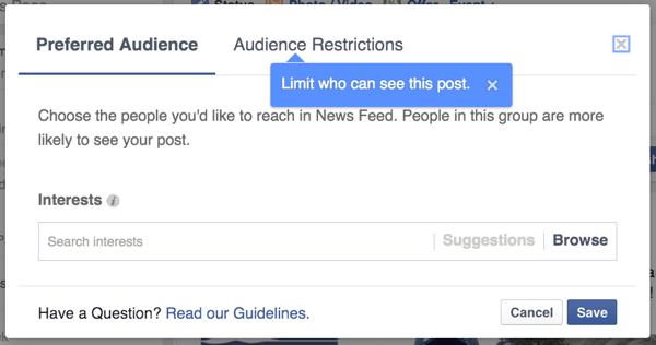 audience optimization targeting