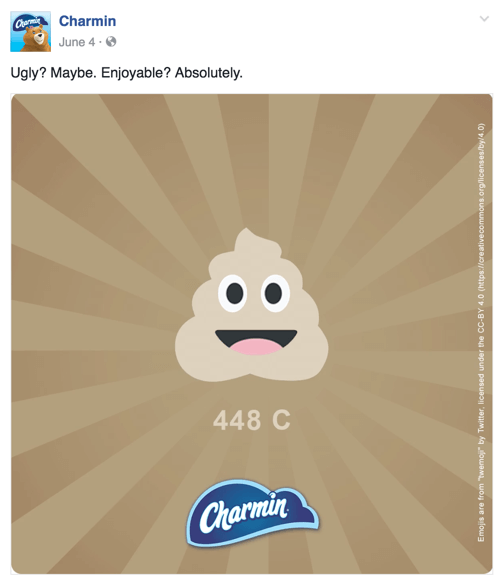 charmin facebook post