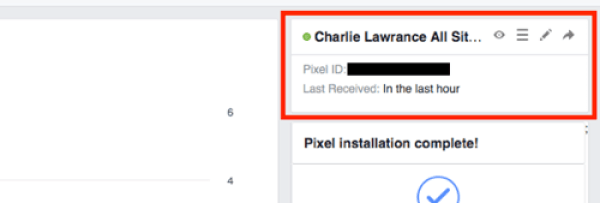 Find your pixel ID in your Facebook Ads Manager.