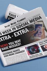 Facebook automatisiert Untertitel für Video-Untertitel und andere Social-Media-Nachrichten für den 7. Januar 2017.