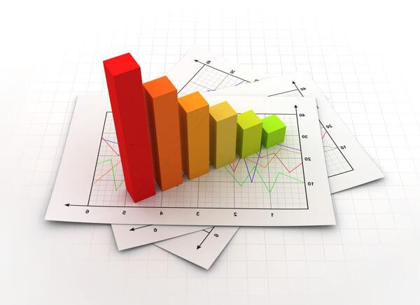 Die Verwendung von Diagrammen und Grafiken in Ihren Facebook-Anzeigenbildern schlägt neue Forschungsergebnisse und Informationen vor.