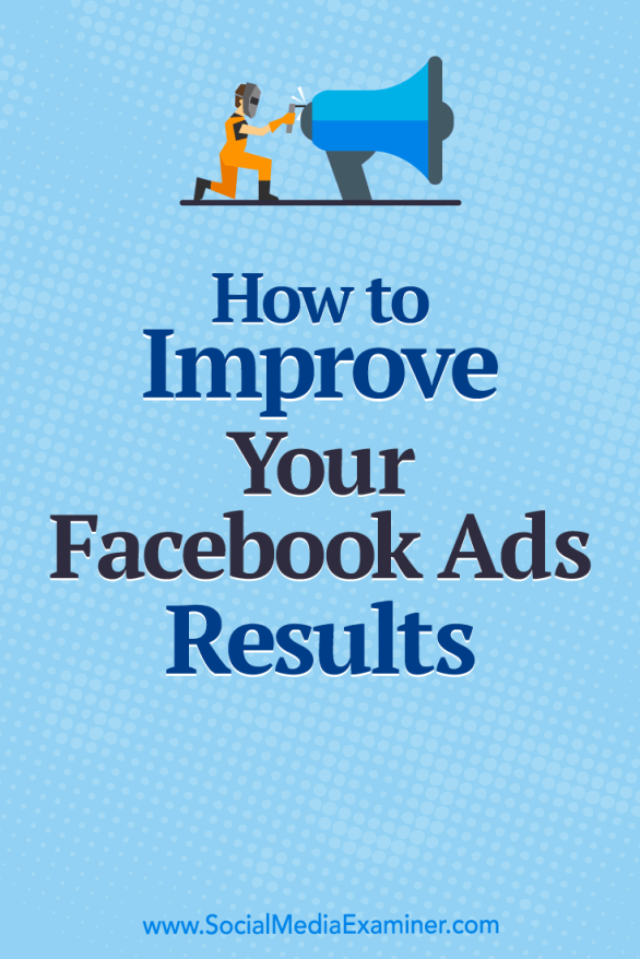 Discover three steps to optimize your Facebook ads to reach your ideal target audiences.