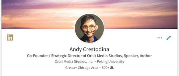 linkedin facebook-like profile photo filter