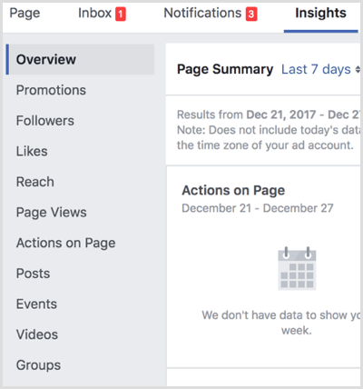 Facebook view Group Insights