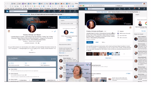 LinkedIn added more details and connection information to the headers on members' personal profiles.