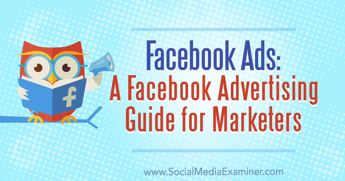 Image for Facebook Ads: A Facebook Advertising Guide for Marketers : Social Media Examiner