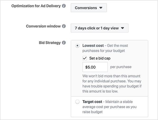 Pagare di più non significa che il tuo annuncio su Facebook sia più probabile da vedere.