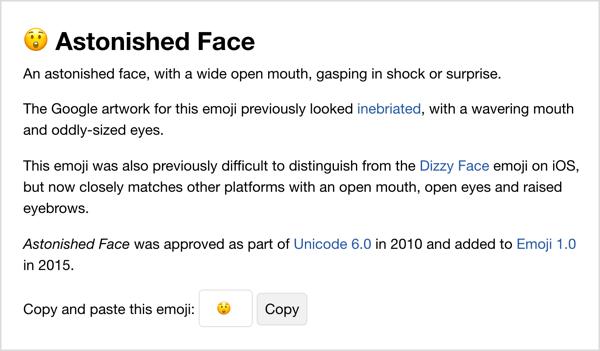 Copy emoji from Emojipedia.