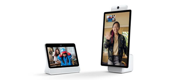 Facebook officially unveiled two new smart speaker and video calling devices, Portal and Portal+.