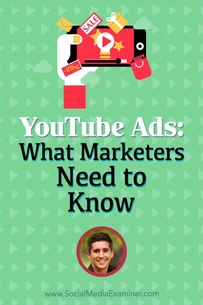 Learn how user intent on Facebook and YouTube differs and why intent matters to advertisers. You'll also discover a 7-step process to sell with YouTube ads.