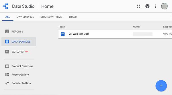 Hoe een gegevensbron aan Google Data Studio toe te voegen
