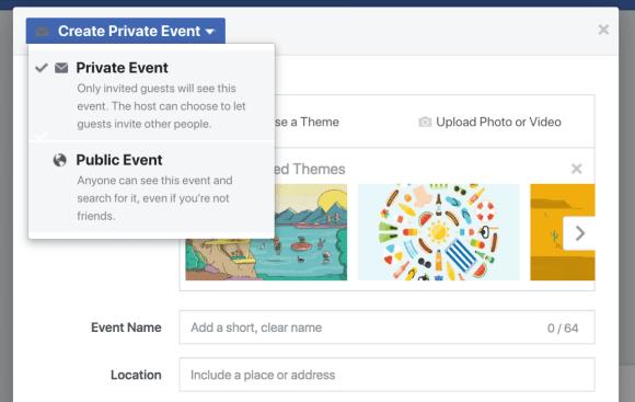 تتيح أحداث Facebook لشركتك طريقة لتضمين المعجبين والمتابعين والعملاء في ندوة عبر الإنترنت أو إطلاق منتج أو افتتاح كبير أو احتفالات أخرى.