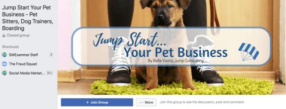 قم بإنشاء مجموعتك الخاصة أو انضم إلى إحدى مجموعات Facebook العديدة التي تم تشكيلها حول مجالك.