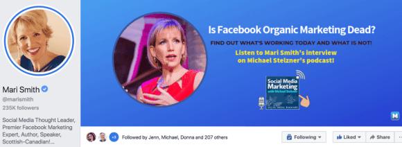 تعرض صفحة الأعمال على Facebook ما تبيعه ، وتظهر صفحة شخصية عامة من أنت