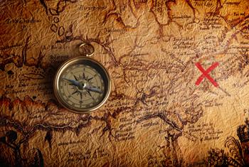 Treasure Map by Filip Fuxa on Shutterstock.com