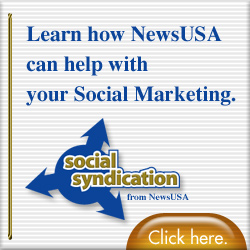 Social Syndication from NewsUSA