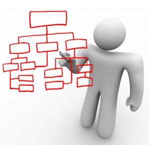 Organizational CHart - iQconcept on Shutterstock