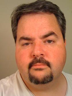 Jason Falls before Movember's shaving