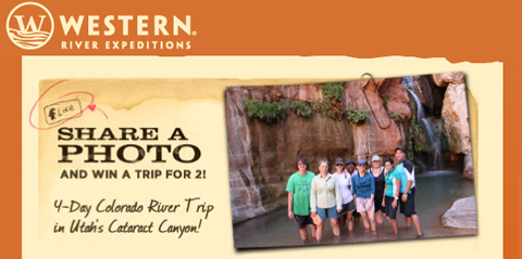Western River Expeditions Digital Marketing Email