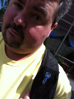 Jason Falls and his Blue Key