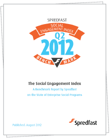 Spredfast Social Engagement Index Report