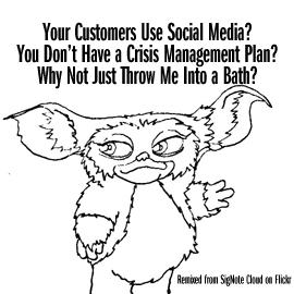 Social Media Crisis Gremlin
