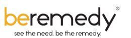 beremedy logo for write up by Fundraising Coach Marc A. Pitman for Social Media Exlporer's #GivingTuesday series