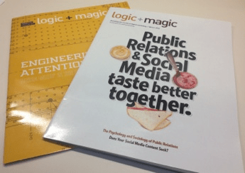 Logic+Magic Magazine from Leap