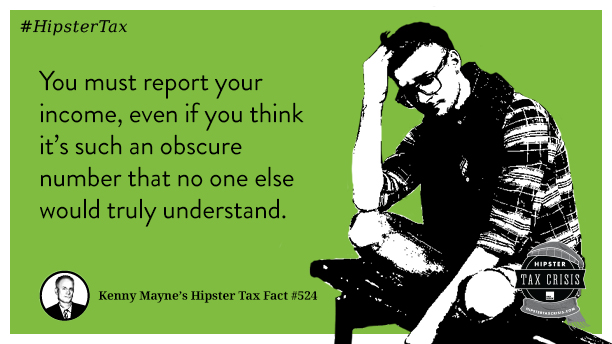 Hipster Tax Facts from H&R Block