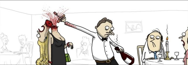 Bad Waiter by Lotterimanden from FunnyJunk.com